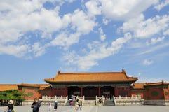 Edificios de la ciudad del emperador Imágenes de archivo libres de regalías