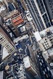 Edificios de la ciudad en Nueva York Foto de archivo
