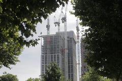 Edificios de la construcción de Londres imágenes de archivo libres de regalías