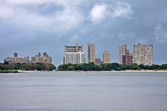 Edificios de la costa Imagenes de archivo