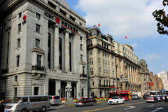 Edificios de la Federación en Shangai Foto de archivo libre de regalías