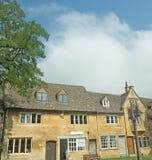 Edificios de la piedra de Cotswold Fotografía de archivo libre de regalías