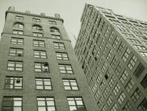 Edificios de la sepia Imágenes de archivo libres de regalías