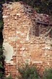 Edificios de ladrillo viejos Imagen de archivo