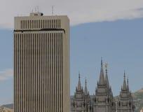 Edificios de LDS fotos de archivo