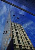 Edificios de ligue Foto de archivo libre de regalías