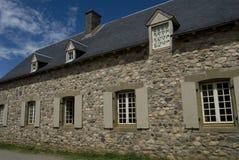 Edificios de Louisburg Imagen de archivo