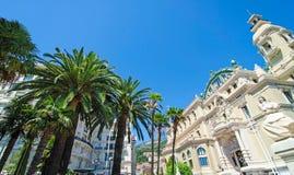 Edificios de Mónaco Imagen de archivo