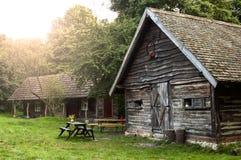 Edificios de madera fotografía de archivo libre de regalías