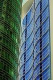 Edificios de Makati Imagen de archivo libre de regalías