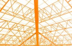 Edificios de marco de acero Fotos de archivo libres de regalías