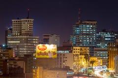 Edificios de Nairobi fotografía de archivo