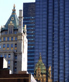 Edificios de New York City Imagen de archivo libre de regalías