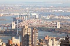 Edificios de Nueva York Fotografía de archivo
