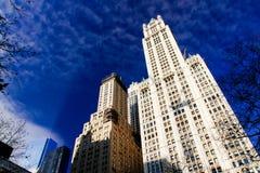 Edificios de Nueva York Foto de archivo libre de regalías