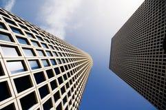 Edificios de oficinas Fotos de archivo libres de regalías