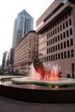 Edificios de oficinas céntricos Fotografía de archivo