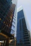 Edificios de oficinas céntricos Fotos de archivo