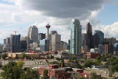 Edificios de oficinas de Calgary Imagen de archivo libre de regalías