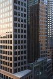 Edificios de oficinas de New York City. Fotos de archivo