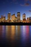 Edificios de oficinas de Sydney fotos de archivo