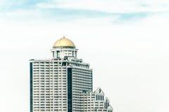 Edificios de oficinas en Bangkok, Tailandia Imagen de archivo libre de regalías