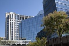 Edificios de oficinas modernos Fotografía de archivo