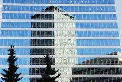 Edificios de oficinas modernos en Calgary Fotos de archivo libres de regalías