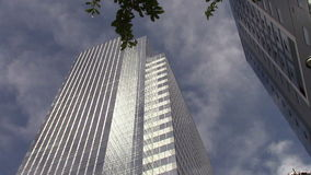 Edificios de oficinas Phoenix céntrica, AZ almacen de metraje de vídeo