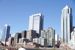 Edificios de oficinas - Seattle Imagen de archivo libre de regalías