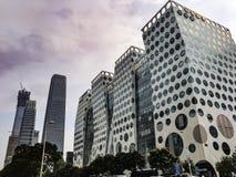 Edificios de Pekín Imágenes de archivo libres de regalías