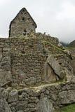 Edificios de piedra en Machu Picchu, Perú Fotografía de archivo