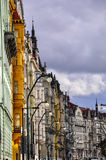 Edificios de Praga Imagen de archivo