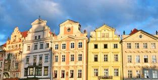 Edificios de Praga Fotografía de archivo libre de regalías