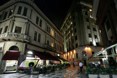 Edificios de São Pablo Imagen de archivo libre de regalías