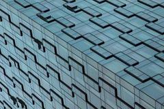 Edificios de Shangai - arte de la arquitectura - líneas y modelos Foto de archivo libre de regalías