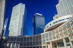 Edificios de Shinjuku en Tokio imágenes de archivo libres de regalías