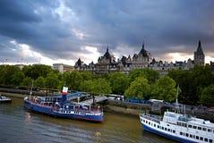 Edificios de Thames del río - 7 Fotografía de archivo