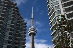 Edificios de Toronto en centro de ciudad Fotografía de archivo