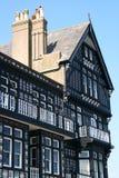 Edificios de Tudor Fotografía de archivo libre de regalías