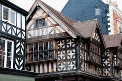 Edificios de Tudor Imagen de archivo libre de regalías
