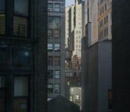 Edificios de Verticle Imagenes de archivo