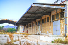 Edificios de Warehouse Fotos de archivo