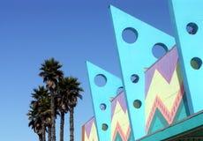 Edificios del art déco Foto de archivo libre de regalías