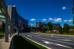 Edificios del centro médico de Herhsey Imagen de archivo libre de regalías
