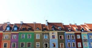 Edificios del color Foto de archivo