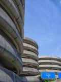 Edificios del estacionamiento del aeropuerto, aeropuerto de Seattle Imágenes de archivo libres de regalías