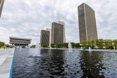 Edificios del gobierno en Capitol Hill en Albany, Nueva York imagen de archivo libre de regalías