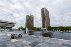 Edificios del gobierno en Capitol Hill en Albany, Nueva York fotografía de archivo libre de regalías