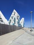 Edificios del iceberg en Aarhus, Dinamarca Fotografía de archivo